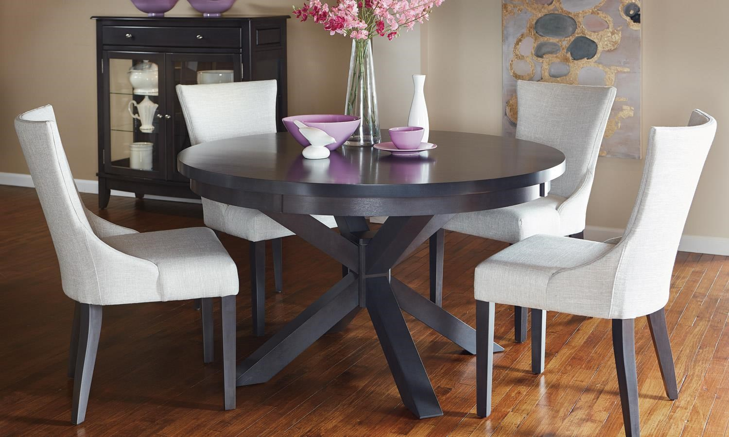"Prestige Round 54"" Table by Bermex at Stoney Creek Furniture"