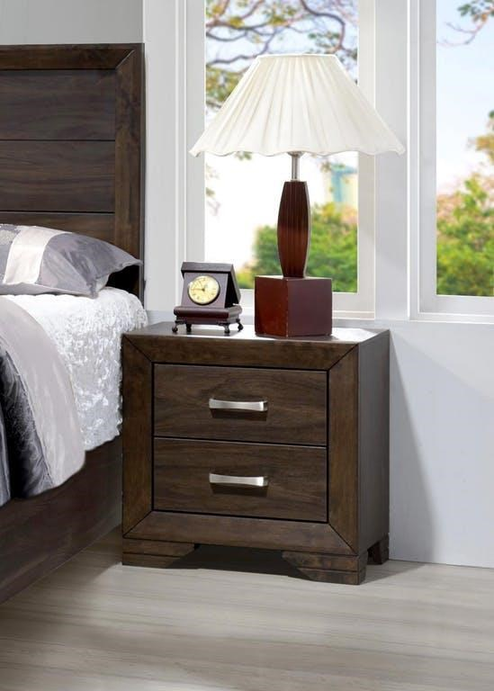 Asheville Mango Nightstand by Bernards at Westrich Furniture & Appliances