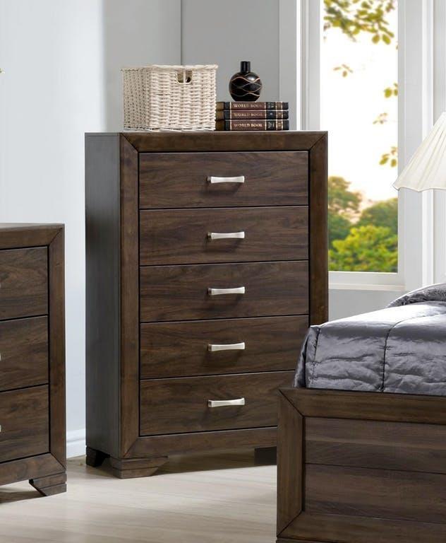 Asheville Mango Dresser by Bernards at Westrich Furniture & Appliances