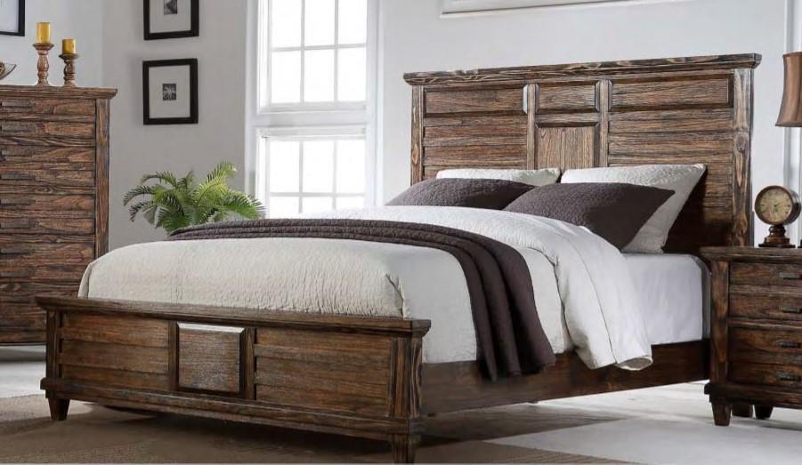 Bernards Cortez Queen Bed - Item Number: GRP-1630-QUEENBED