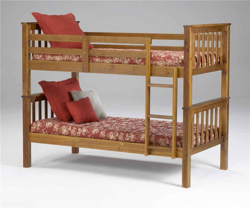 Morris Home Furnishings Brookland Brookland Twin Bunkbed - Item Number: 3125HFT/RL