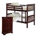 Bernards Sadler Bunk Bed with Chest - Item Number: 3729 Group