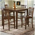 Morris Home Furnishings 5712 5 Piece Pub Table Set - Item Number: 5712