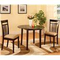 Morris Home Furnishings 5808 3 Piece Drop Leaf Dinette - Item Number: 5808