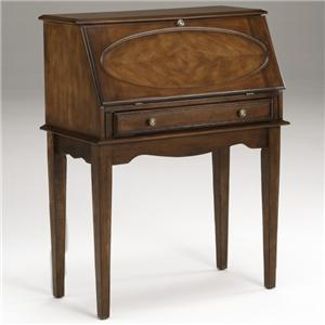 Morris Home Furnishings 7672 Drop Down Secretary Desk