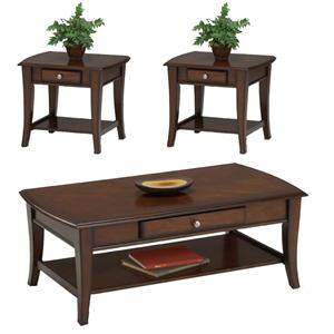 Bernards Broadway 3 Pc. Accent Table Group