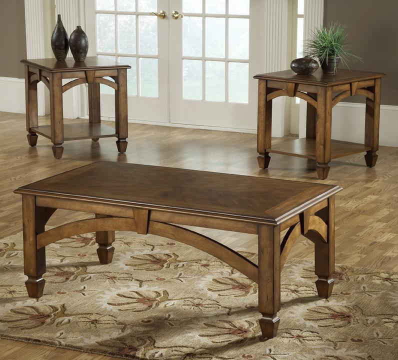 3 Pack Wood Occasional Tables