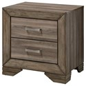 Morris Home Furnishings Asheville Nightstand - Item Number: 1652