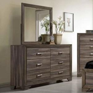 Bernards Asheville Dresser U0026 Mirror