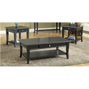 Morris Home Furnishings Broadway 3 Pack of Occasional Tables