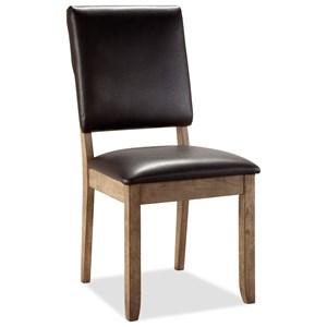 Bernards Cordova Upholstered Side Chair