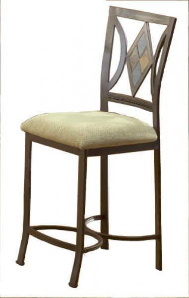 Bernards Diamond Tile Bar Stool - Item Number: 4719