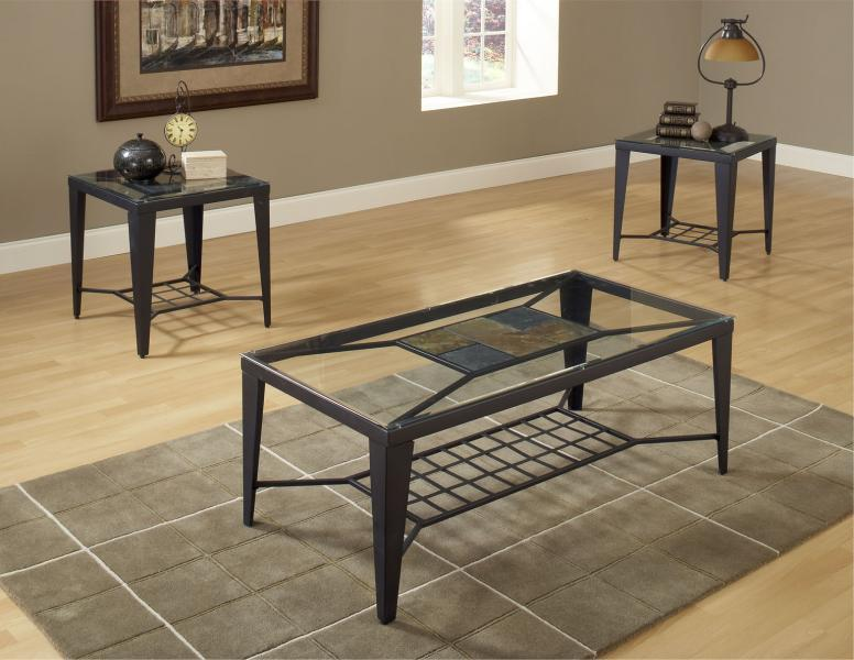 Bernards Diamond Tile Occasional Table Group - Item Number: 9112