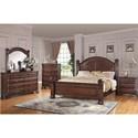 Bernards Isabella Queen Bedroom Group - Item Number: 1410 Q Bedroom Group 1