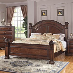 Bernards Isabella King Post Bed