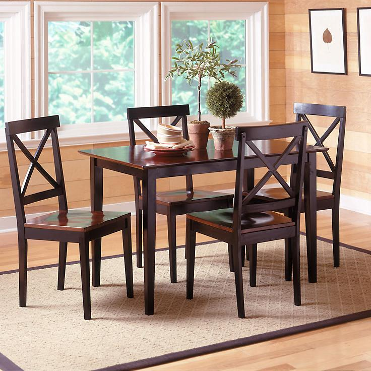 Bernards Jaguar Merlot and Black Dinette - Item Number: 5698