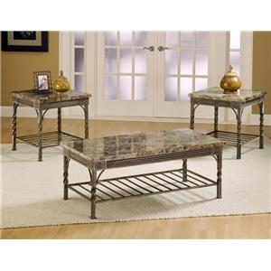Morris Home Furnishings Madison Occasional Table Group