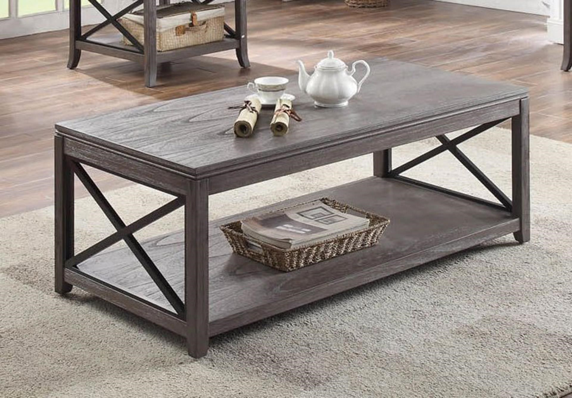 Cocktail Table with Casters