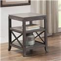 Bernards Melbourne Chairside Table - Item Number: 8828-003