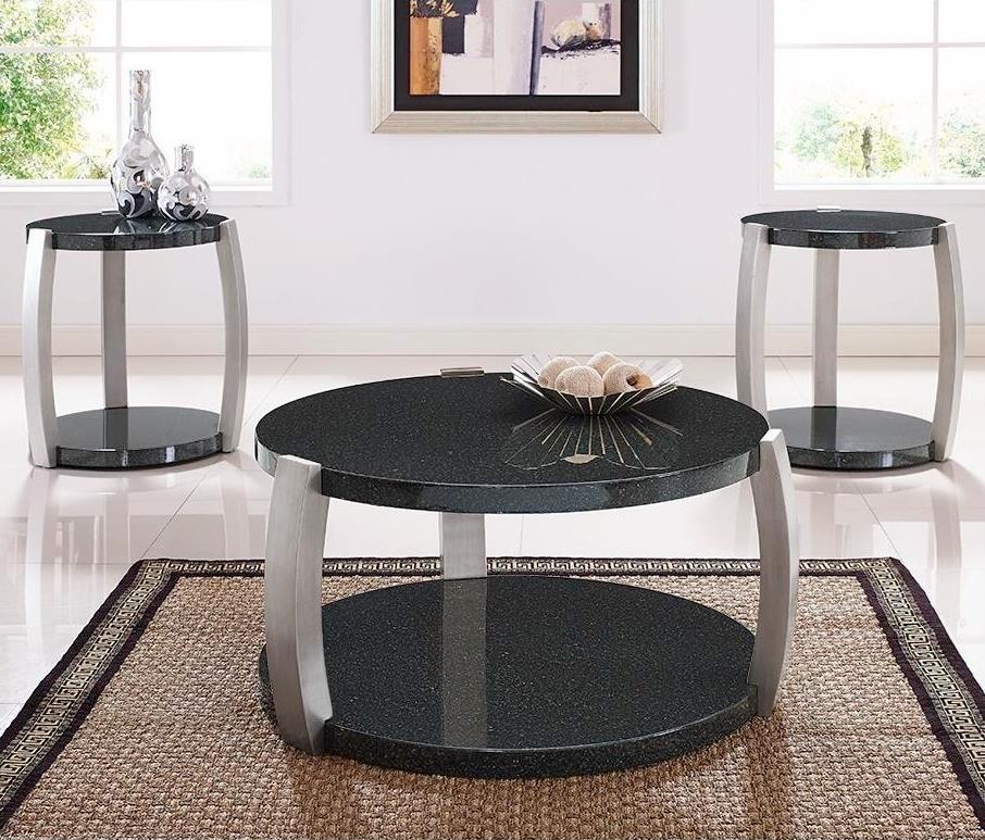 Bernards Orbit 3-Pack of Occasional Tables - Item Number: 8666
