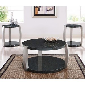 Morris Home Furnishings Orbit 3-Pack of Occasional Tables