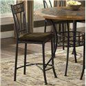 Morris Home Furnishings Red Rock Metal Bar Stool - Item Number: 4741
