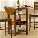 Morris Home Furnishings Ridgewood Drop Leaf Pub Table - Item Number: 5914