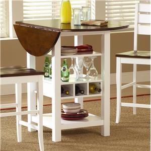Morris Home Furnishings Ridgewood Drop Leaf Pub Table
