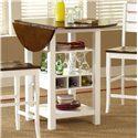 Morris Home Furnishings Ridgewood Drop Leaf Pub Table - Item Number: 5916