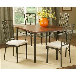 Morris Home Furnishings Roman 5-Piece Dinette Table Set