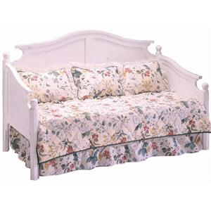 Morris Home Furnishings Somerville White Twin Americana Daybed