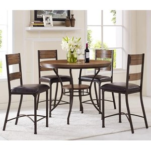 Morris Home Furnishings Stockton 5-Piece Pub Table Set