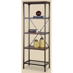 Morris Home Furnishings Stockton Narrow Bookcase