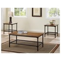Morris Home Furnishings Stockton 3-Pack Cocktail Table & 2 End Tables - Item Number: 9560