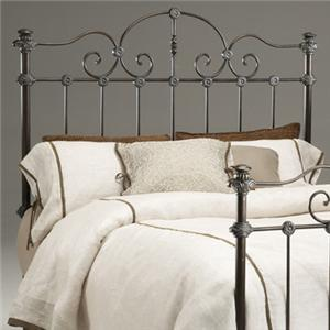 Morris Home Furnishings Tierra Verdi Queen Metal Headboard
