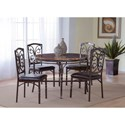 Morris Home Furnishings Tuscan Faux Marble Dinette Table