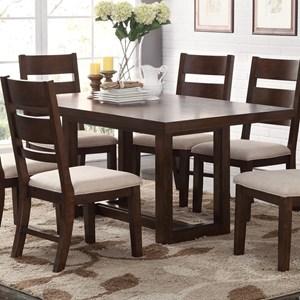 Bernards Volante 5-Piece Rectangular Dining Table Set