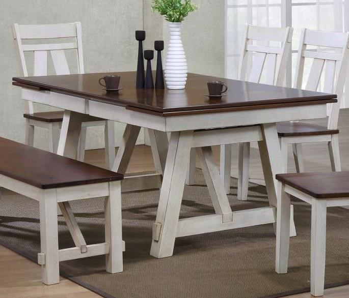 Bernards Winslow Refectory Rectangular Dining Table W