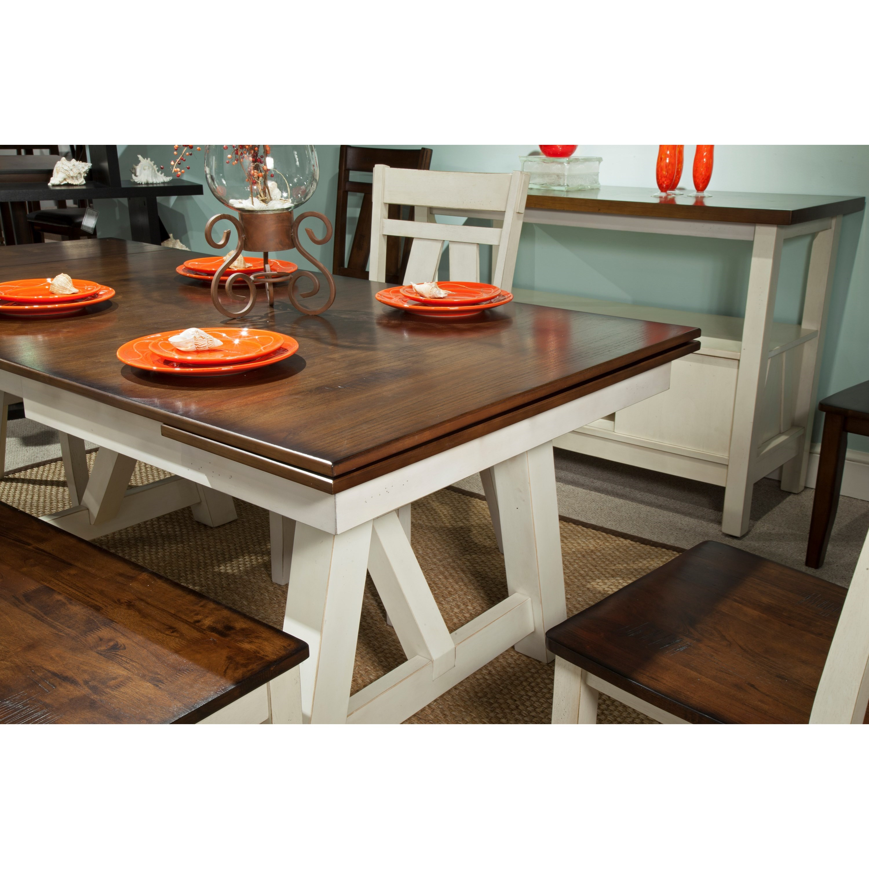 Bernards Winslow Refectory Rectangular Dining Table W