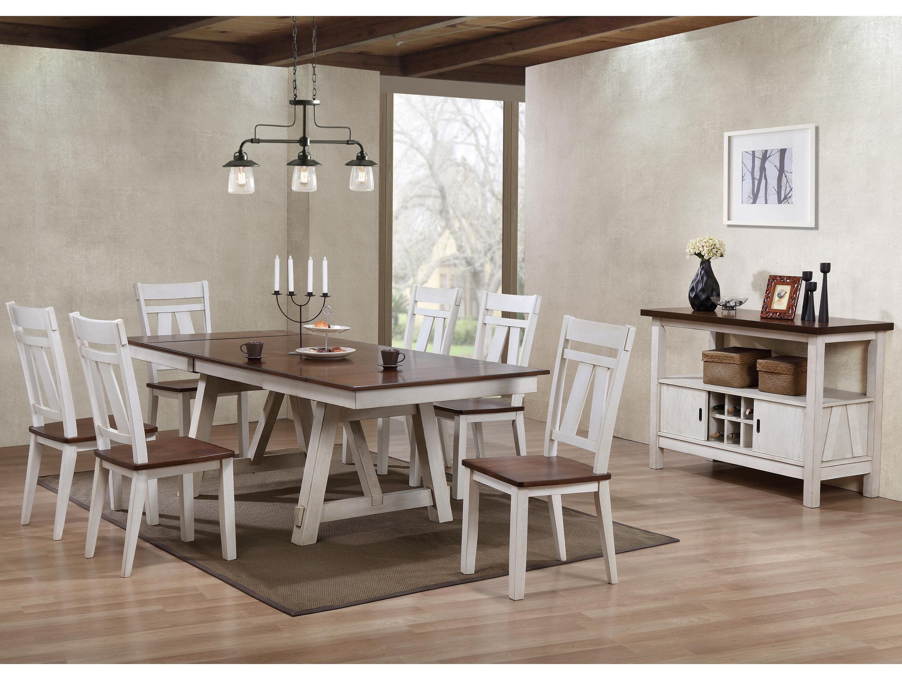 Wayside Dining Room Furniture: Bernards Winslow Casual Dining Room Group
