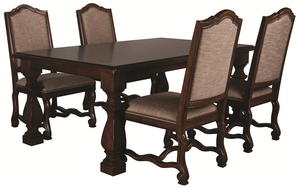 Bernhardt Montecello Montecello 5 Piece Dining Room Set - Item Number: 350-221+543