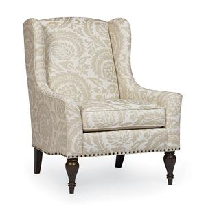 Bernhardt Belgian Oak Sofia Upholstered Chair