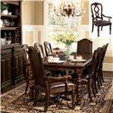Bernhardt Normandie Manor 7Pc Dining Room - Item Number: 317-222-501-502