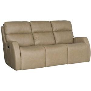 Bernhardt Aaron Leather Power Motion Sofa