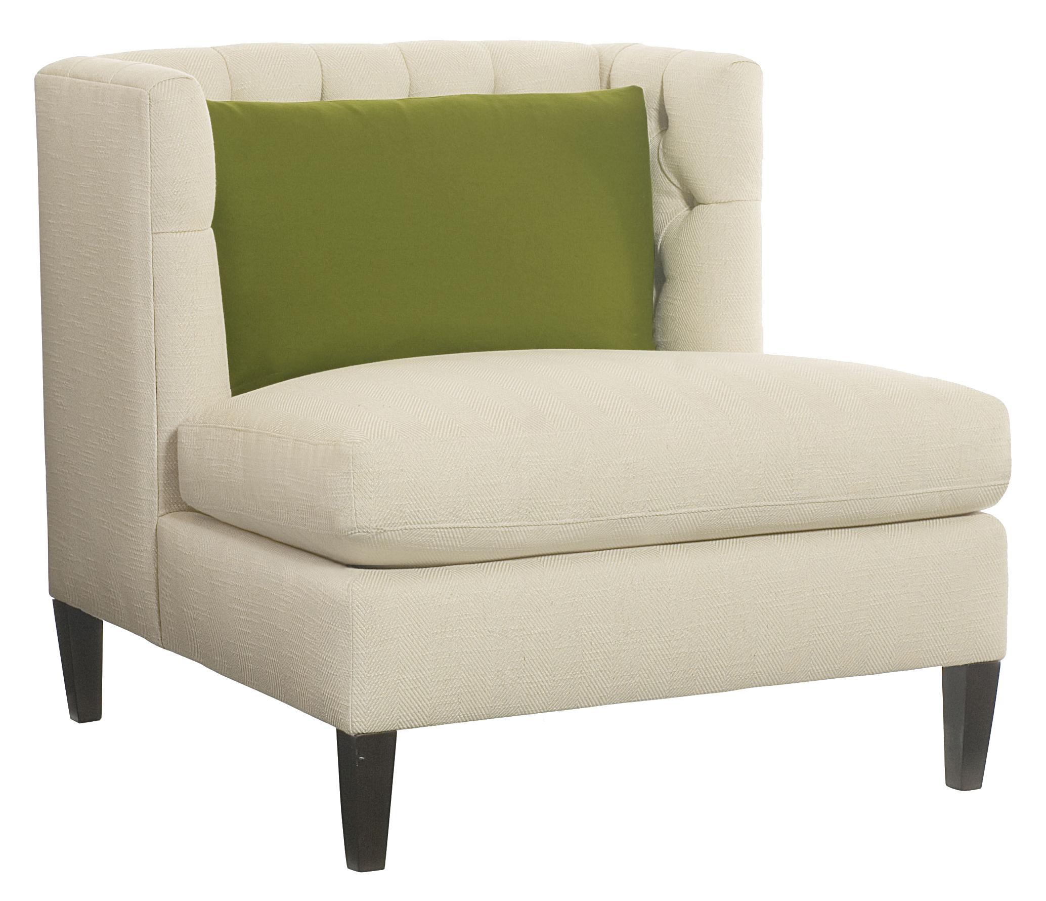 Bernhardt Abbey  Armless Chair - Item Number: B1610