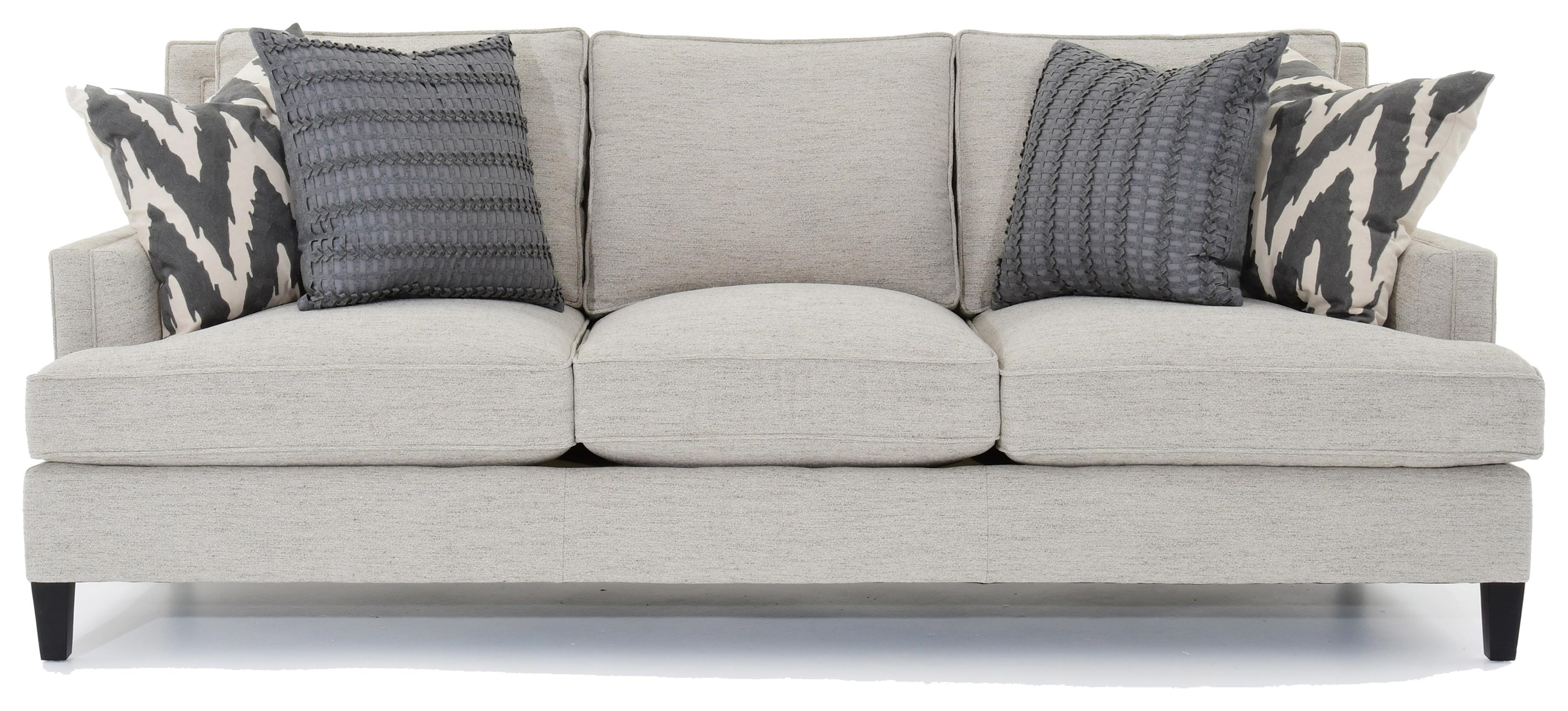 Bernhardt Addison Casual Styled Sofa - Item Number: B1487A 1011-002E