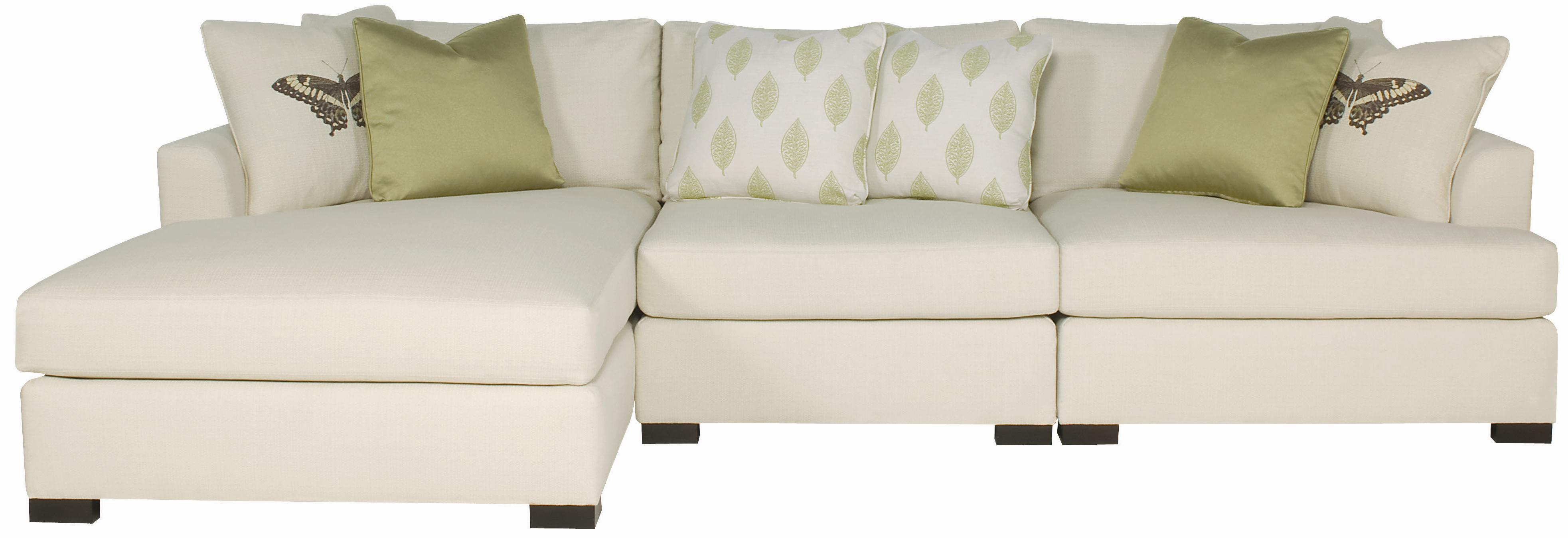 Bernhardt adriana sectional sofa with chaise lounger for Bernhardt chaise