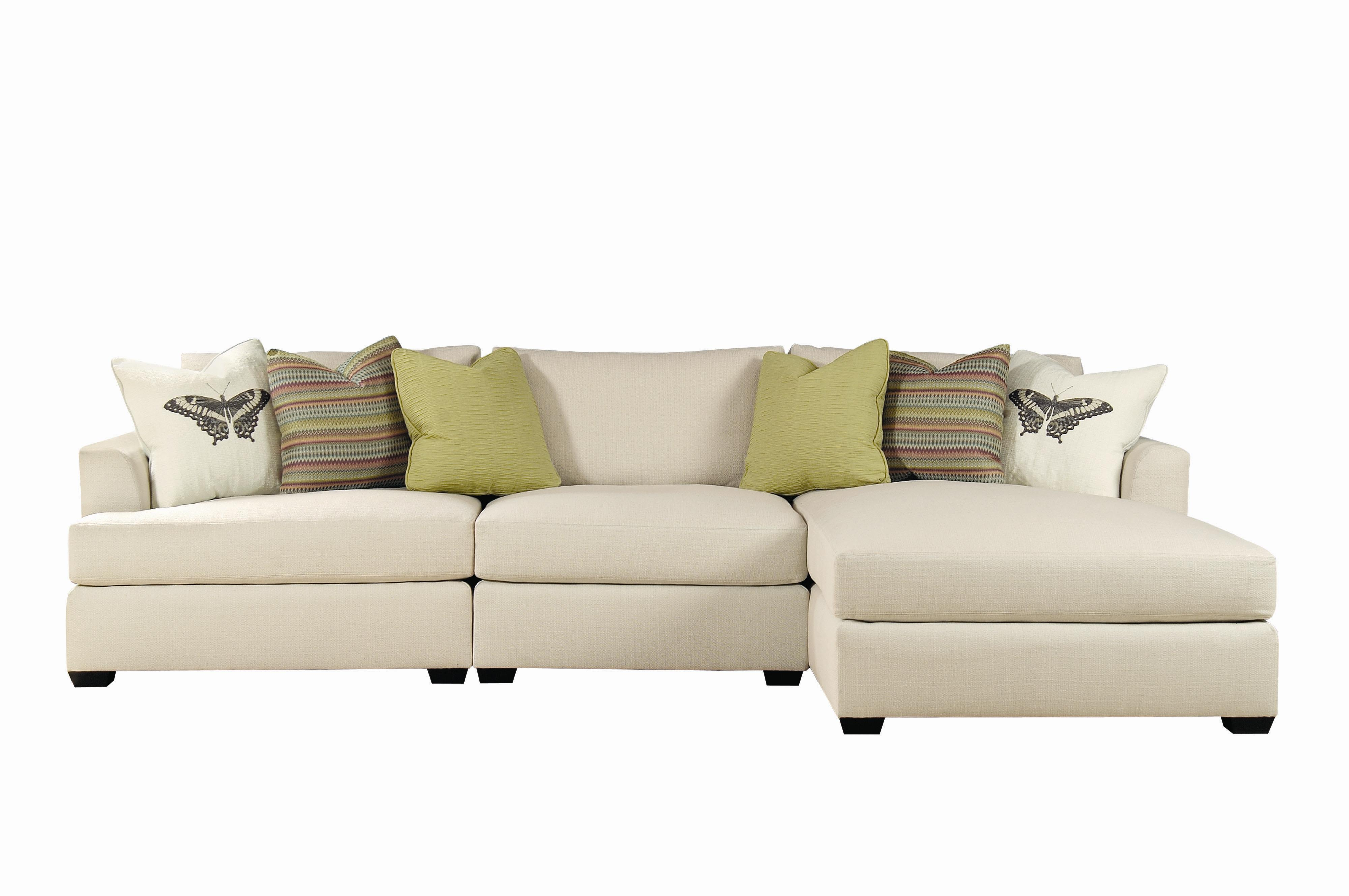 Bernhardt adriana sectional sofa with chaise lounger for Bernhardt chaise lounge
