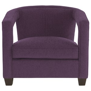 Contemporary Chair with Nailheads