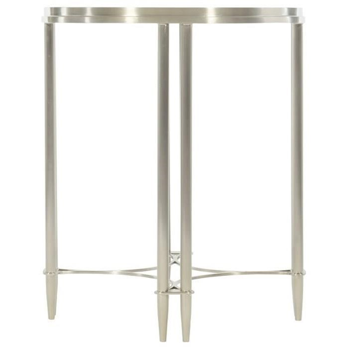 Allure Metal Round Drink Table by Bernhardt at Baer's Furniture